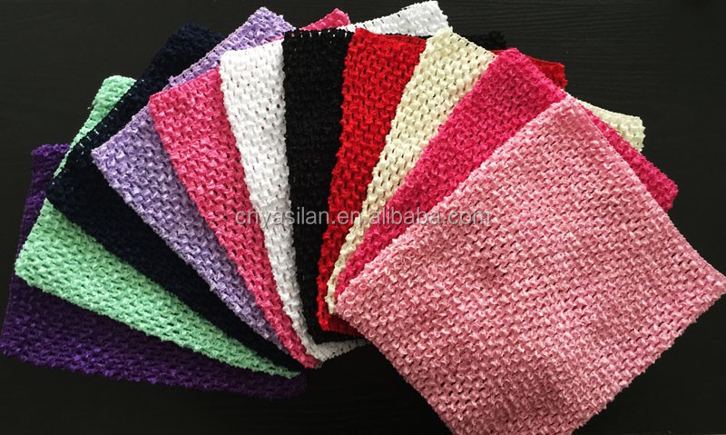 Baby Girl 10 Inch Tutu Tube Tops Chest Wrap Wide Crochet <strong>headbands</strong> IN STOCK YL02994