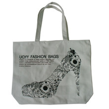 wholesale custom printed economical reusable advertisement tote shopping bags