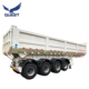 Best Quality China 4 Axles 45 Cubic Meters Tipping Semi Trailer, U Shape Tipper Trailer, Dump Trailer For Arica