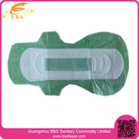 health care products feminine sanitary napkin with negative ion
