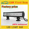 Car light bar126W combo beam 20inch bar led light with 100%waterproof