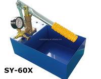 SY-16/25/40/60X Hydraulic manual pressure test pump, hydro testing pumps