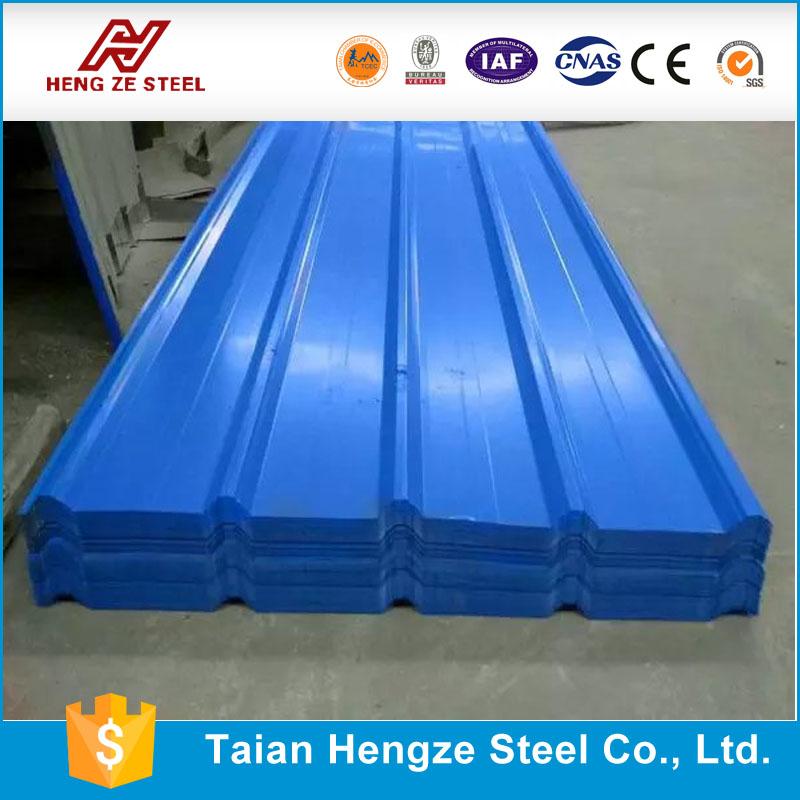 Hoja de acero corrugado para techos de chapa de acero - Acero galvanizado precio ...