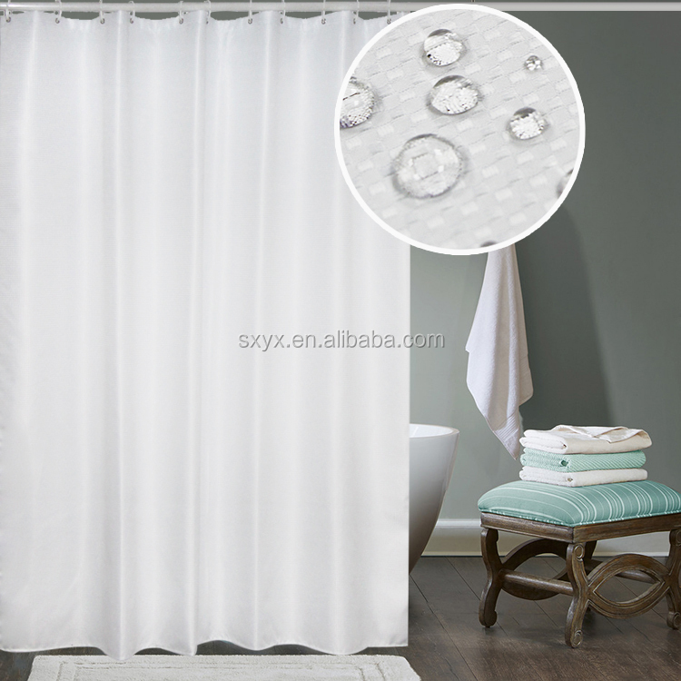 New waffle brand name curtain hotel shower curtain bathroom curtain 72x72in