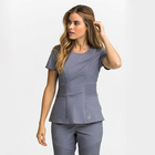 2018 Ketai Workwear Comfortable Practical Professional Scrub Top Salon SPA Uniform