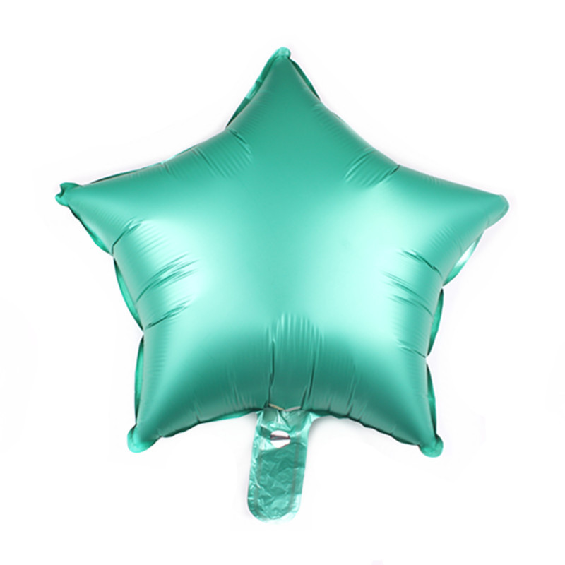 New Design EN71 Custom 18 Inch Metallic Foil star Shaped Foil Balloons for Wedding Valentine's Day Hen Party Decoration