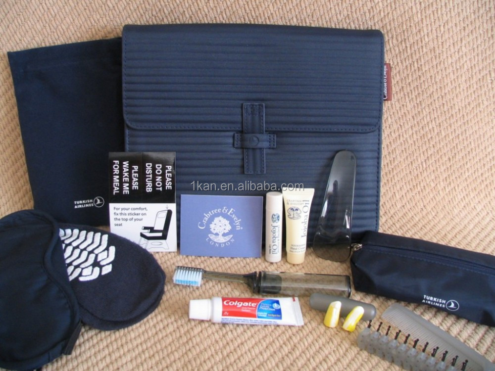Amenity Kit Airlines Ariline Amenity Kit Travel Set Hotel Amenities