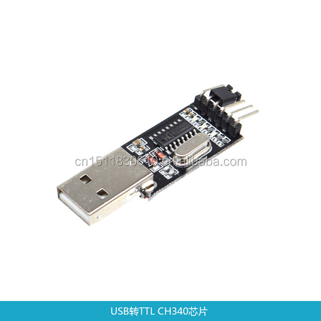USB TTL serial module CH340G chip STC microcontroller small brush download nine upgrade