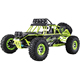 WL TOYS 12428 2.4G 1/12 Scale Electric 4WD Remote Control High Speed Brush Motor Truck RC Climbing Car Kit with LED Lights