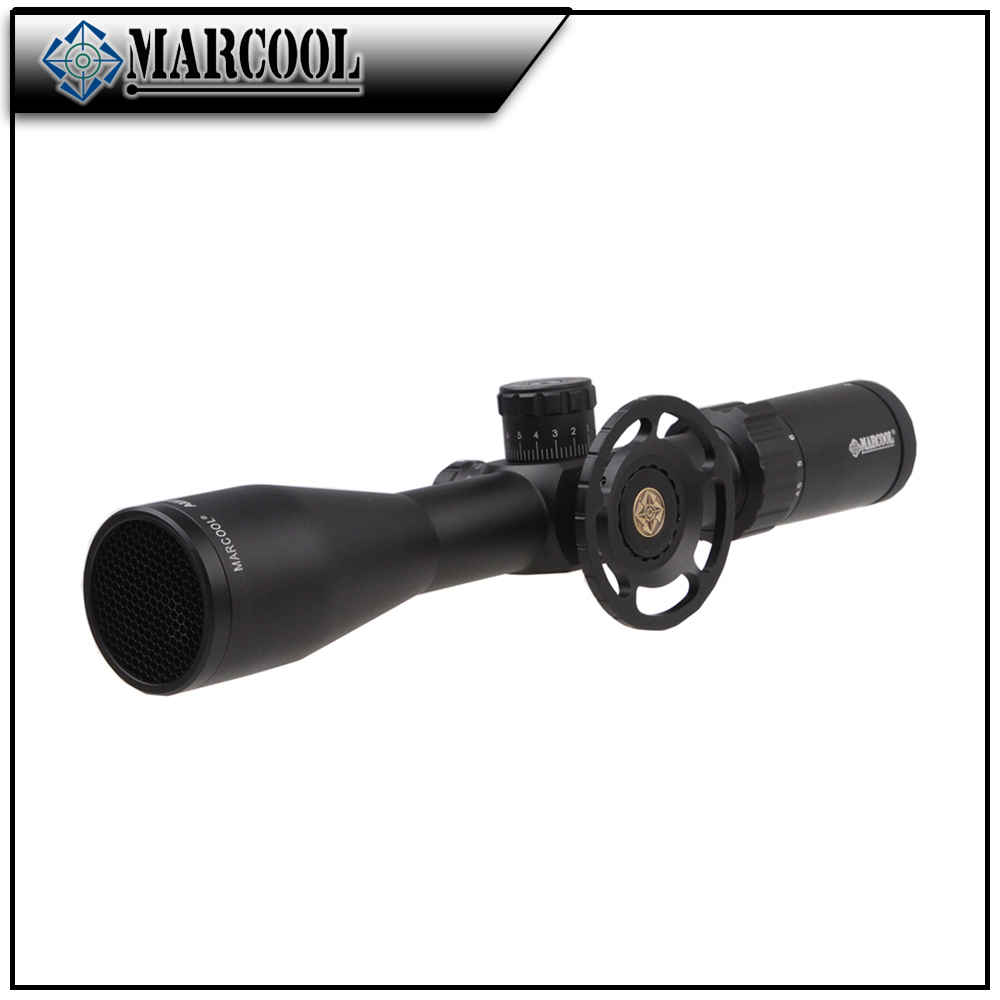 MARCOOL hunting equipment air gun telescope military surplus scopes 4.5-18x44 SFL night vision rifle scope with big wheel