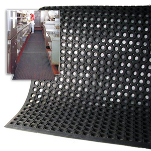 Hot products to sell online porous cow rubber mat