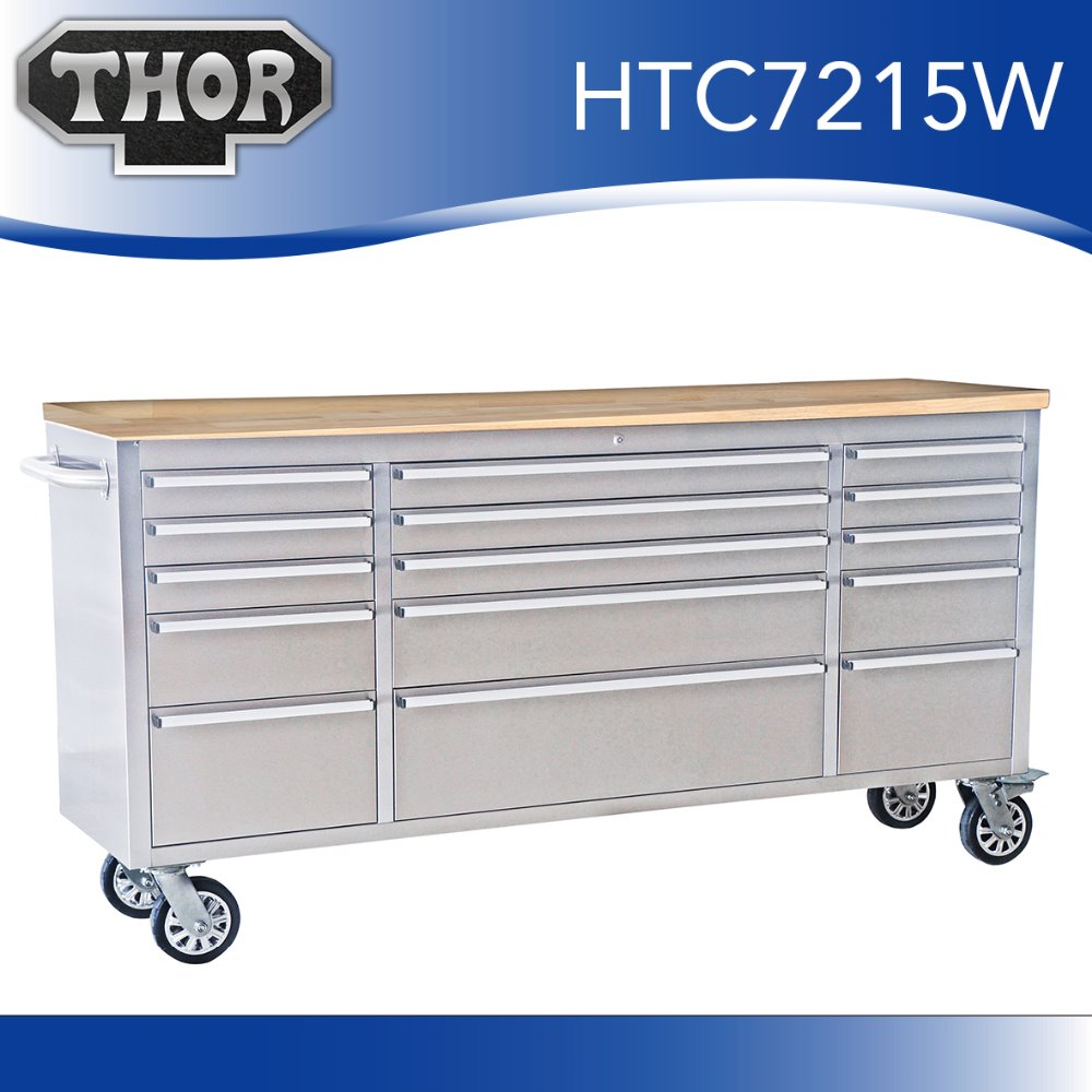 72 Quot Stainless Steel Ultimate Storage Garage Workbench Tool