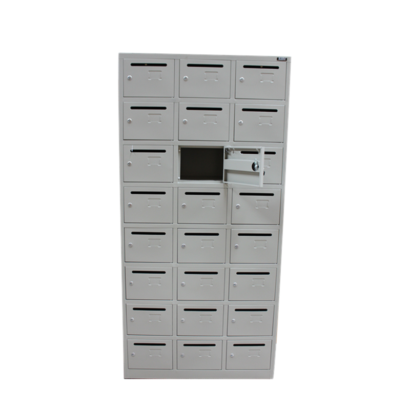 China Supply Commercial Antique 24 Doors Steel Apartment Building Mailbox
