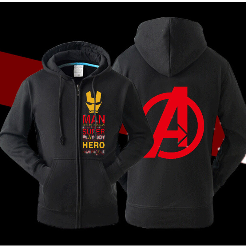 Cool superhero hoodies