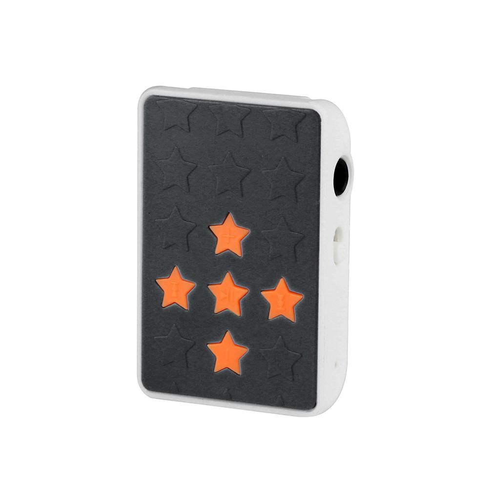 קליפ USB מיני Mp3 mp3 נגן עם אוזניות מוסיקה Media Player תמיכת 32GB TF כרטיס & אוזניות