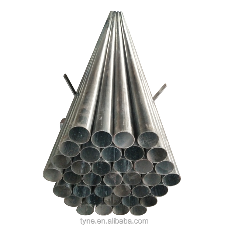 Strong load capacity ERW technology out diameter 10mm - 1500mm hot dipped welded galvanized steel pipe
