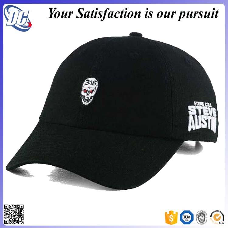 327b69f7 Custom Made Distressed Dad Hat,Black Dad Hat,Dad Hat Embroidery ...