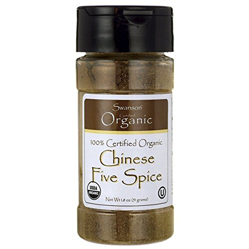 Swanson 100% Cert Organic Chinese Five Spice 1.8 oz (51 g) Pwdr