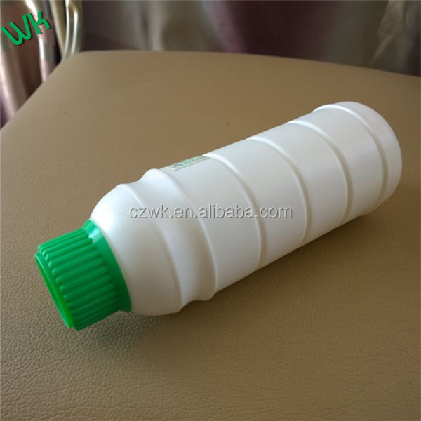 250ml HDPE+AD+EVOH COEX Plastic bottle with green cap for chemical from china ,high barrel