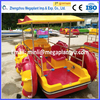 New design four wheels water car/ water bike pedal boats