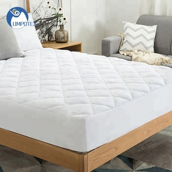 Waterproof Plush Top Mattress Pad Fitted Style 18 Inch