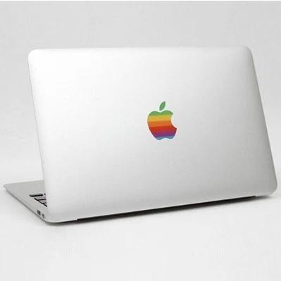 Радуга логотип ноутбук стикер часть пропуск скины для macbook pro retina air 11 13 15 дюймов / beartiful протектор для macbook