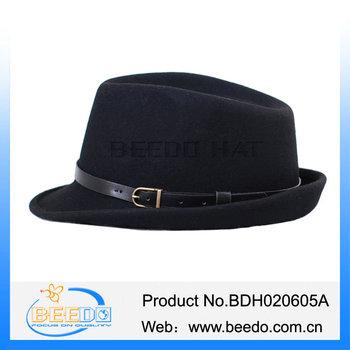 4e76bdf66713f Londres Hombre Australia Gángster Fedora Sombreros Trilby - Buy A ...