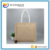Women Holiday Shopping Jute Tote Bag with Handles