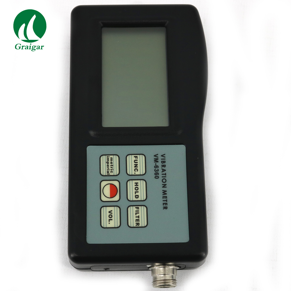 VM-6360 Vibration Meter VM6360 Vibrator with Cable and RS232 Software