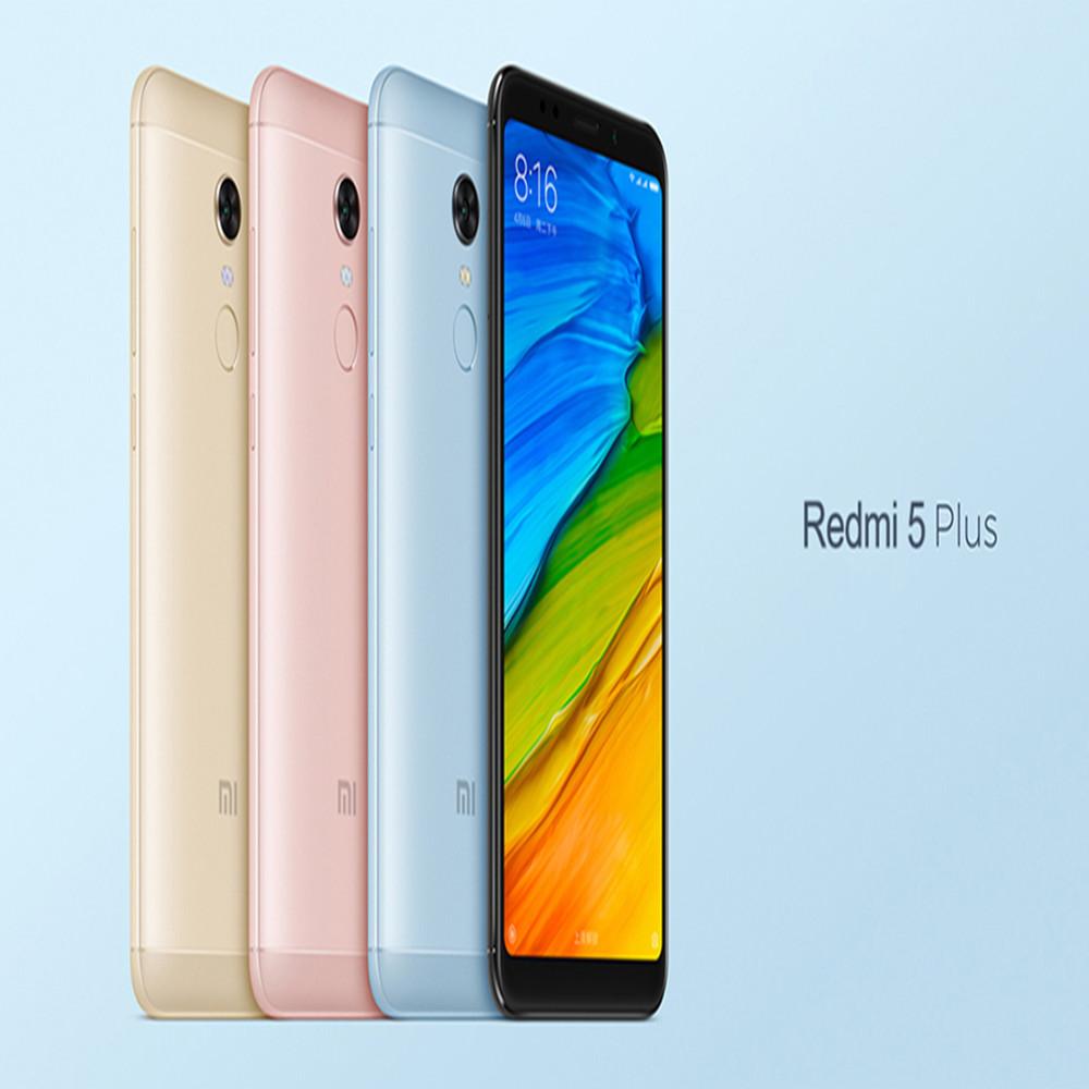 Wholesale Xiaomi Redmi 5 Plus, 3GB+32GB 5.99 inch Xiaomi 4GB smartphone