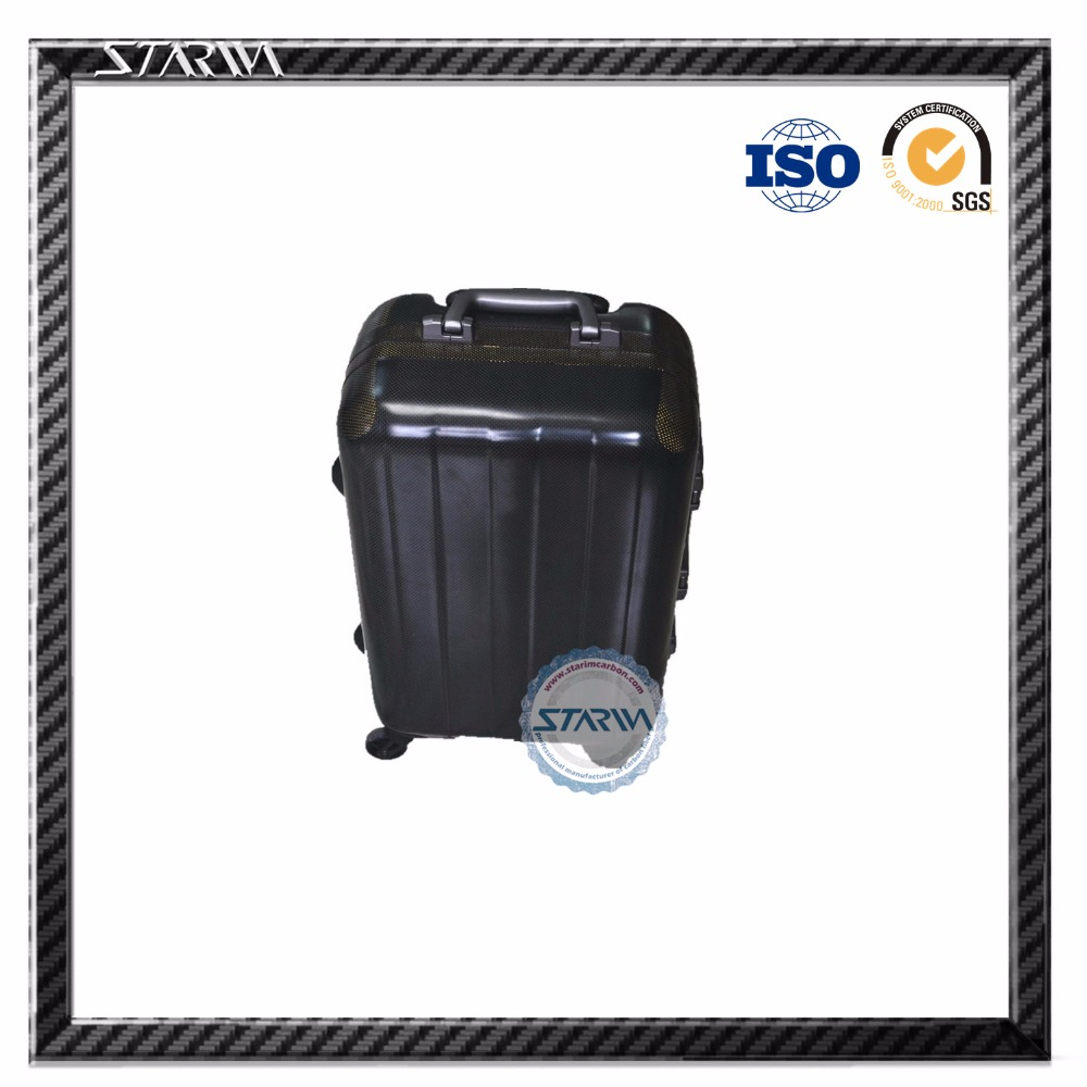 OEM 3K modern carbon fiber luggage/suitcase, super light and strong travel house luggage