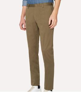 Men's Slim-Fit Stretch-Cotton Twill Chinos Pant