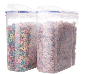 Cereal Container Airtight Watertight Cereal Keeper 16.9 Cup 135.2oz with silicone seal