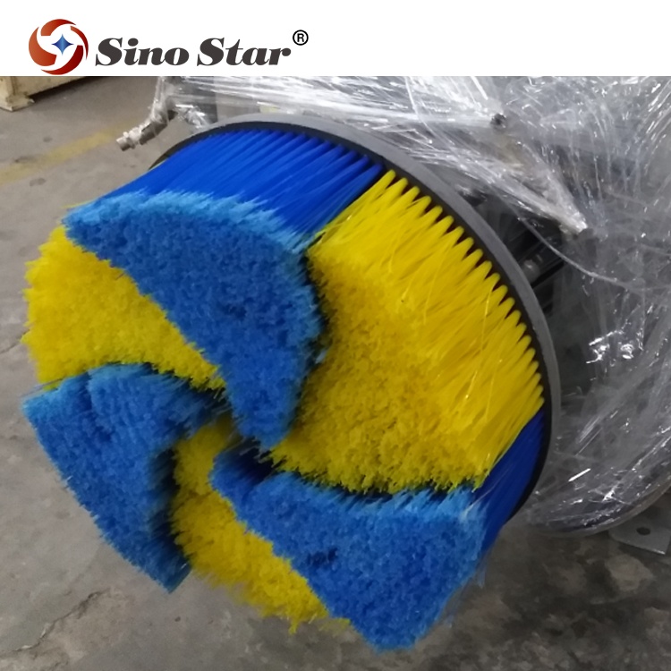 Good quality Automatic car wheel brush used with touchless, rollover and tunnel car wash machine