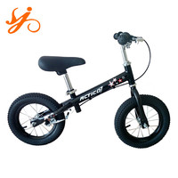 Steel rim 12 inch kids balance bike / cheap outdoor sports children balance bike / toddler balance bikes with best quality