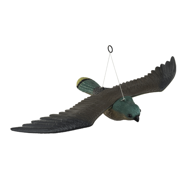 new design plastic flying eagle decoy military decoration