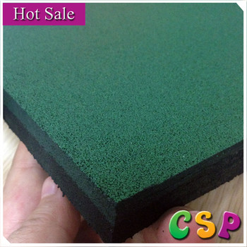 Various Thickness Outdoor Driveway Recycled Rubber Patio Pavers