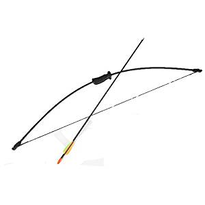Tauren Children's Toys Cupid Boy Scouts Hawkeye Hunting Game Bow and Arrow(black)