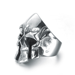 Wholesale Skull Ring Vintage Accessories Gothic Punk Rock Men Finger Rings 316L Stainless Steel