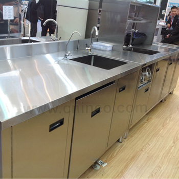 Stainless Steel Restaurant Commercial Modern Design Bar Counter For
