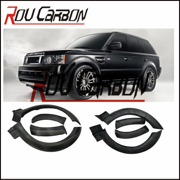 Hot!HM style full wide body kit for ra nge rove r HSE car wide body