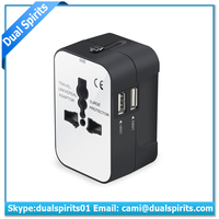 Travel Smart by DS All-In-One Adapter and Converter Combo Unit-US Europe UK Italy Spain China supplier