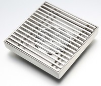 High Quality Kitchen Accessories Stainless Steel Shower Floor Drain Grate , Bathroom Floor Drain Cover