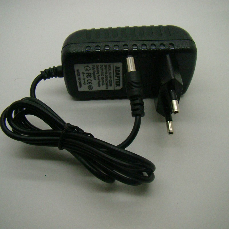 AC 100-240V switching Power adapter Converter Adaptor Wall charger DC EU 9V 1a 1.5A 2A 5.5*2.5mm