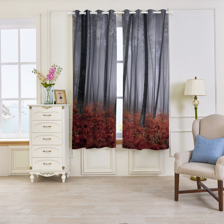High quality popular design Shaoxing modele de rideaux salon for the living room curtains and drapes
