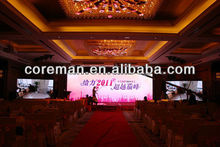 Ceiling led video panel indoor / wedding indoor rental led video display p2.5 / festival mobile led sign board p5 outdoor