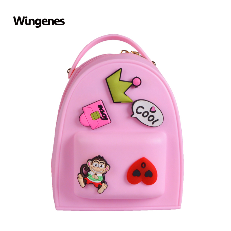Candy Color Silicone Backpack Fashion Girl Backpack School Backpack For  Kids - Buy Girls Backpacks,Silicone Girl Backpack,Silicone School Backpack