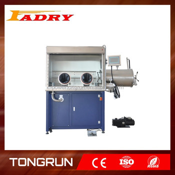 Lab Nitrogen Inlet / Argon Gas Operation Glove Box Isolator / Lab Use  Stainless Chamber With Vacuum Gauge &flange - Buy Inert Gas  Isolator,Stainless