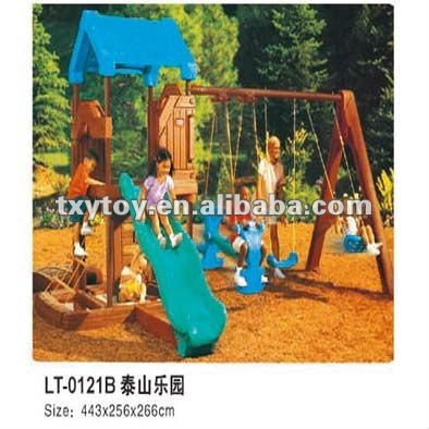 children slide house LT-0121B