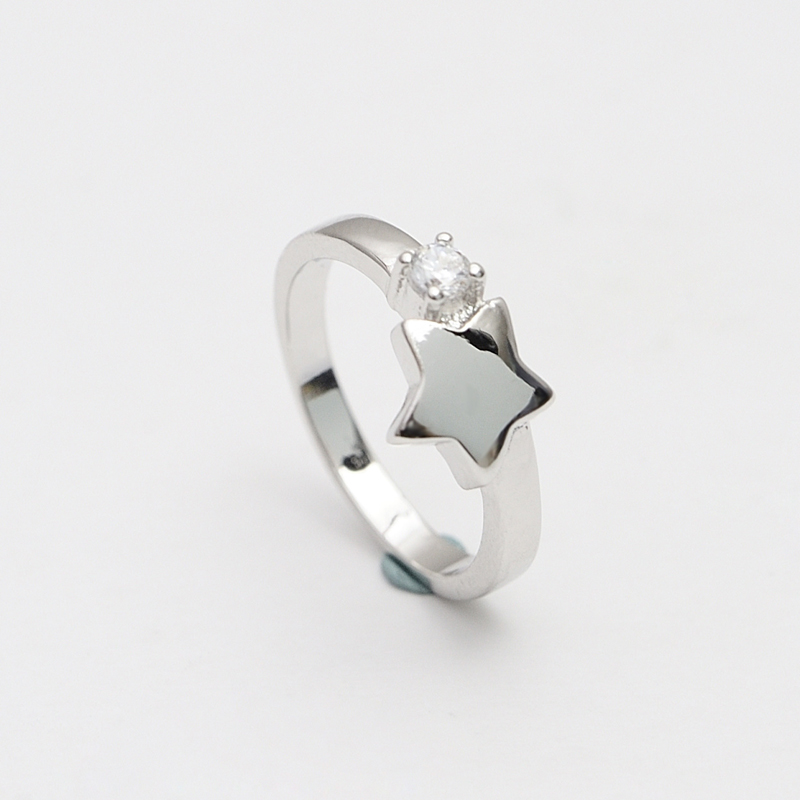charming thewa jewellery jaipur custom 925 sterling silver gold ring 24k plating in star shape